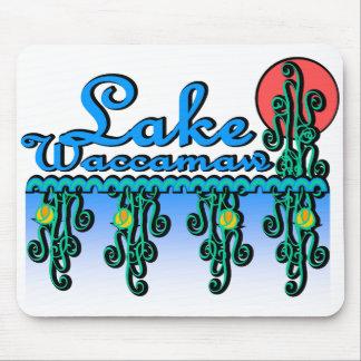Lake Waccamaw Lotus Mousepad
