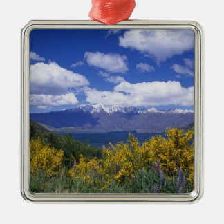 Lake Wakatipu and the Remarkables, Queenstown, Metal Ornament
