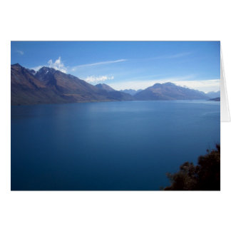 Lake Wakatipu Card