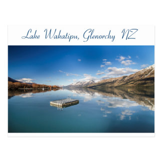 Lake Wakatipu Glenorchy NZ Postcard