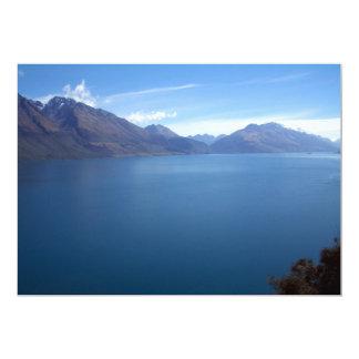 """Lake Wakatipu 5"""" X 7"""" Invitation Card"""