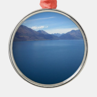 Lake Wakatipu Metal Ornament