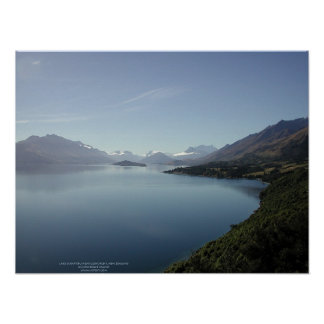 Lake Wakatipu near Glenorchy New Zealand Posters