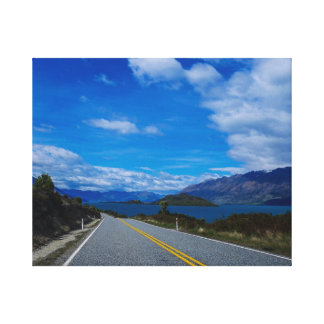 Lake Wakatipu, New Zealand Canvas Print