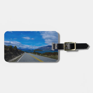 Lake Wakatipu, New Zealand Luggage Tag