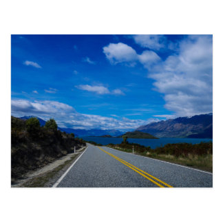 Lake Wakatipu, New Zealand - Postcard