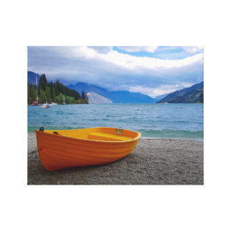 Lake Wakatipu, Queenstown Canvas Print