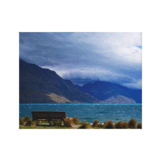 Lake Wakatipu, Queenstown, New Zealand Canvas Print