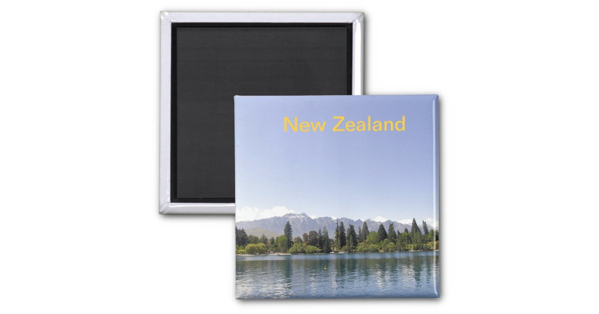 Decorating Ideas > Lake Wakatipu Queenstown New Zealand Magnet  Zazzle ~ 001457_Birthday Party Ideas Queenstown