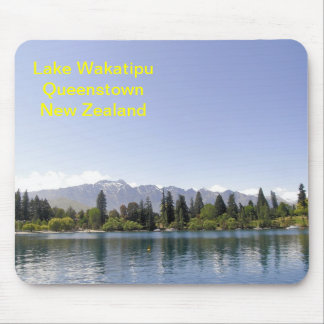 Lake Wakatipu Queenstown New Zealand Mouse Pad