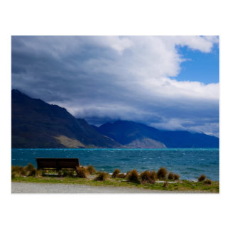Lake Wakatipu, Queenstown,  New Zealand - Postcard