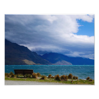 Lake Wakatipu, Queenstown, NZ - Photo Print