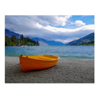 Lake Wakatipu, Queenstown - Postcard