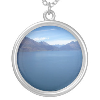 Lake Wakatipu Round Pendant Necklace