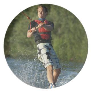 Lake Wakeboarding  Plate