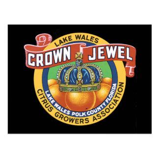 Lake Wales Crown Jewel Orange Postcard
