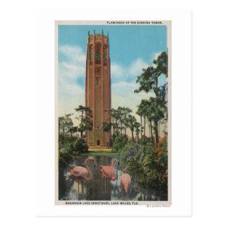 Lake Wales, FL - View of Singing Postcard