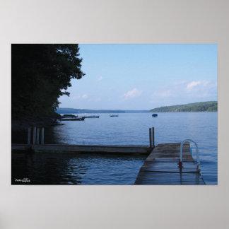 Lake Wallenpaupack: Docks Poster