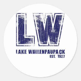 Lake Wallenpaupack est 1927 Classic Round Sticker