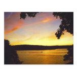 Lake Wallenpaupack Sunset Postcard