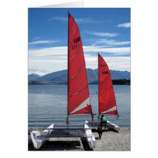 Lake Wanaka, New Zealand Card