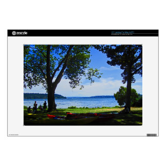"Lake Washington 15"" Laptop Decal"