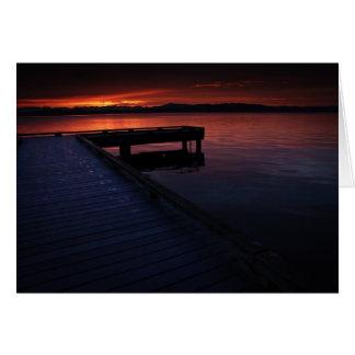 Lake Washington Sunrise Card