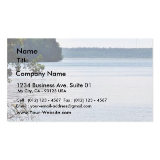 Lake Water On Wind Business Cards