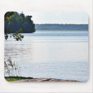 Lake Water On Wind Mouse Pad
