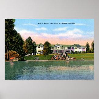 Lake Wawasee, Indiana South Shore Inn Poster