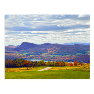Lake Willoughby, Vermont, in Autumn Postcard