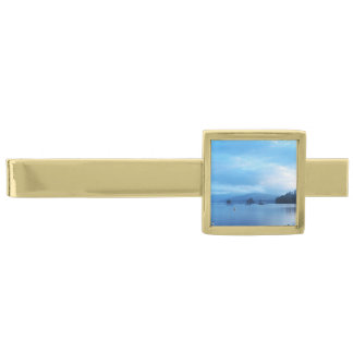 LAKE WINDEMERE,ENGLAND,UK GOLD FINISH TIE BAR