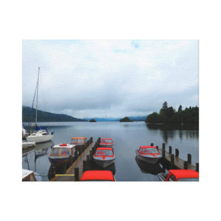 LAKE WINDEMERE S BATS THE LAKE DISTRICT UK GALLERY WRAP CANVAS