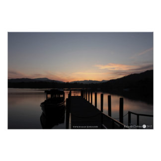 Lake Windemere The Lake District Poster