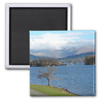 Lake Windermere 2 Inch Square Magnet
