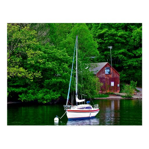 Lake Windermere England Post Cards