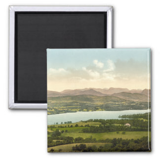 Lake Windermere I, Lake District, Cumbria, England 2 Inch Square Magnet