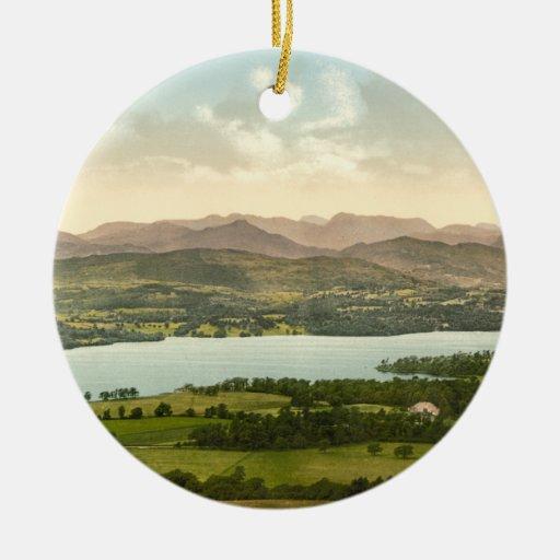 Lake Windermere I, Lake District, Cumbria, England Christmas Ornament