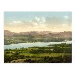 Lake Windermere I, Lake District, Cumbria, England Postcard