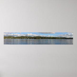 Lake Windermere Panoramic Poster