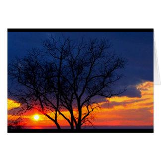 Lake Winnebago Thinking Of You Card