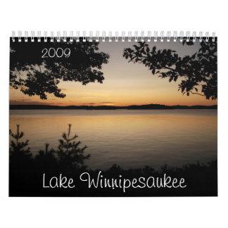 Lake Winnipesaukee, 2009 Wall Calendars