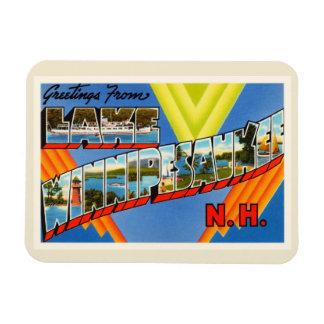 Lake Winnipesaukee #2 New Hampshire NH Old Travel Magnet
