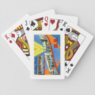 Lake Winnipesaukee #2 New Hampshire NH Old Travel Poker Cards