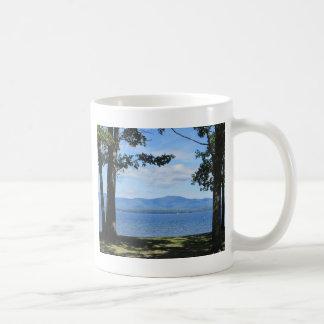 Lake Winnipesaukee Classic White Coffee Mug