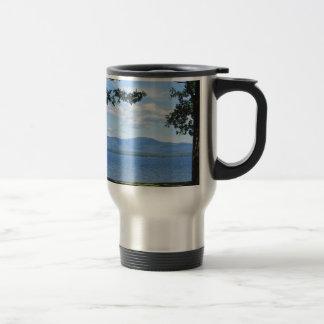Lake Winnipesaukee 15 Oz Stainless Steel Travel Mug