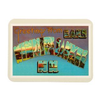 Lake Winnipesaukee New Hampshire Travel Souvenir Magnet