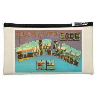 Lake Winnipesaukee New Hampshire Travel Souvenir Makeup Bag
