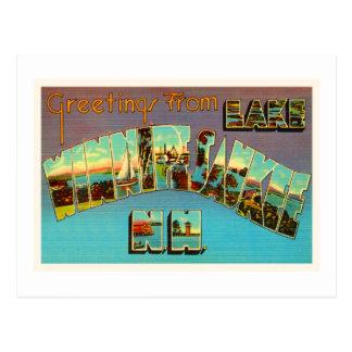 Lake Winnipesaukee New Hampshire Travel Souvenir Postcard