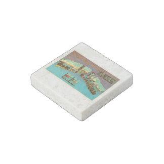 Lake Winnipesaukee New Hampshire Travel Souvenir Stone Magnet
